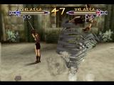 Xena: Warrior Princess - The Talisman of Fate Nintendo 64 Velasca throws her double with a tornado