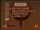 Quake Nintendo 64 Main menu