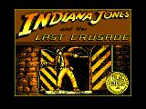 Indiana Jones and the Last Crusade: The Action Game Amstrad CPC Title
