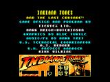 Indiana Jones and the Last Crusade: The Action Game Amstrad CPC Startup