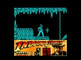 Indiana Jones and the Last Crusade: The Action Game Amstrad CPC The beginning