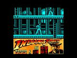 Indiana Jones and the Last Crusade: The Action Game Amstrad CPC Walking around the ship