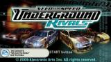 Need for Speed: Underground - Rivals PSP Title screen