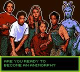 Animorphs Game Boy Color Intro