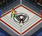 Super Fire Pro Wrestling Queen's Special SNES A facelock