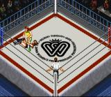 Super Fire Pro Wrestling Queen's Special SNES Stomping. Not only for men