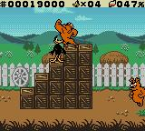 "Daffy Duck: ""Fowl Play"" Game Boy Color You'll need to land a couple dynamite tosses to get past this."