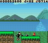 "Daffy Duck: ""Fowl Play"" Game Boy Color Falls capture the Looney-Tunes style nicely."