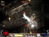 Diablo II Windows Battle with Mephisto can be rather easy if you have a friend that will freeze him all the time ;))