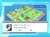 Mega Man Network Transmission GameCube Select your jack-in point using this map
