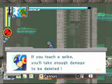 Mega Man Network Transmission GameCube Just like in other Mega Man platform games, spikes are instant death