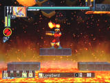 Mega Man Network Transmission GameCube FireMan is causing trouble in a different part of the net