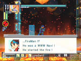Mega Man Network Transmission GameCube Time to stop FireMan!