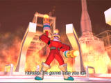 Mega Man Network Transmission GameCube FireMan, ever the comedian