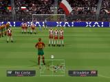 World Soccer: Winning Eleven 6 International PlayStation A free kick. Still too far to be dangerous from a direct kick