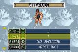 Fire Pro Wrestling 2 Game Boy Advance CAW mode allows to customize evverthing from their looks...