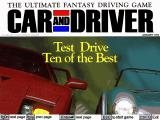 Car and Driver DOS Title screen