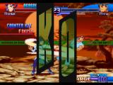 Street Fighter Alpha 3 PlayStation With her energy bar almost empty, Rose tries to win Ryu executing a High Punch... And she gets!