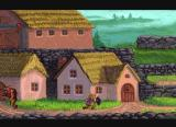 Zelda: The Wand of Gamelon CD-i The village buildings of Kobitan
