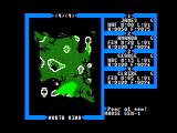 Exodus: Ultima III Apple II Map of Sosaria