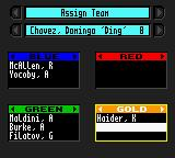 Tom Clancy's Rainbow Six Game Boy Color Assign the characters into three or four teams.