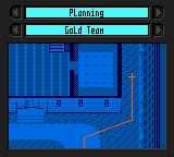 Tom Clancy's Rainbow Six Game Boy Color Planning mode.  This tells each team what route to run if you aren't controlling them.