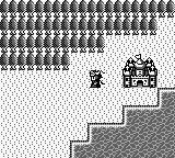 Dragon Warrior I & II Game Boy Color Dragon Warrior I overworld on GB