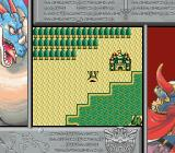 Dragon Warrior I & II Game Boy Color Dragon Warrior I overworld on SGB.  Notice the border changes depending where you are