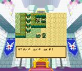 Dragon Warrior I & II Game Boy Color Talking to a dog in Dragon Warrior II on SGB