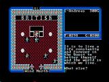 Ultima IV: Quest of the Avatar DOS Lord British's quest (CGA with composite monitor)