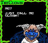 Spawn Game Boy Color Introducing the first stage miniboss: Clown