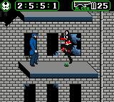 Spawn Game Boy Color Spawn leaps up for a flying kick