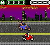Spawn Game Boy Color You'll spend most of stage two on your motorcycle.