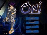 Oni Windows Main Menu Screen