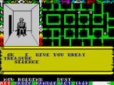 Swords & Sorcery ZX Spectrum Bribing him with my helmet