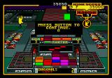 Klax Genesis Game over