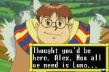 Lunar Legend Game Boy Advance Alex's friend, Ramu, tells Alex a Wizard from Vane has arrived and wishes to talk to all the villagers