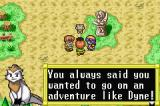 Lunar Legend Game Boy Advance The gang decides to go off on an adventure