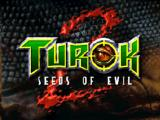 Turok 2: Seeds of Evil Nintendo 64 Title screen