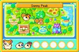 Hamtaro Rainbow Rescue Game Boy Advance Game Map