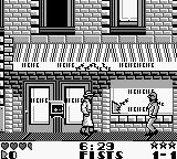 Dick Tracy Game Boy People will throw safes out the windows at Dick Tracy.