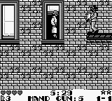 Dick Tracy Game Boy You can stand on window sills.