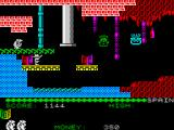 Auf Wiedersehen Monty ZX Spectrum Careful planning and timing needed here