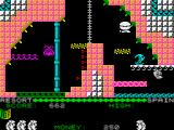 Auf Wiedersehen Monty ZX Spectrum The only progressive escape from here is on the right