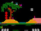 Auf Wiedersehen Monty ZX Spectrum Use the leaves as ledges
