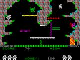 Auf Wiedersehen Monty ZX Spectrum Avoid that and use the spinning leap to escape