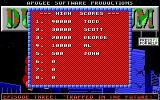 Duke Nukum: Episode 3 - Trapped in the Future DOS High score table