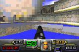 Dark Arena Game Boy Advance Getting hit in multiplayer