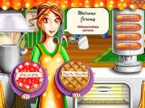 Delicious Deluxe Windows The title screen offers your 2 game modes in the form of dessert choices
