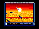 P47 Thunderbolt Amstrad CPC Some missiles have been fired at you